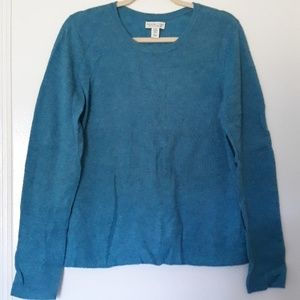 Cashmere Blue Pullover Sweater